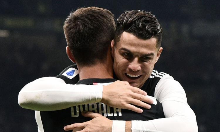 Juve: Dybala contesta Sarri perché si sente Cristiano Ronaldo, ma non lo è