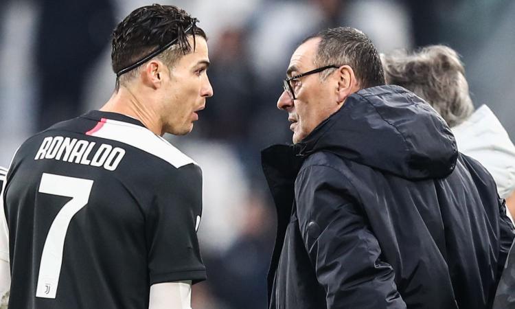 Juve, Ronaldo fa la formazione, non Sarri: qualcosa non torna