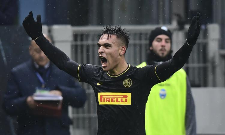 Inter, sorpasso sulla Juve nel segno di Lautaro: Conte merita il primo posto