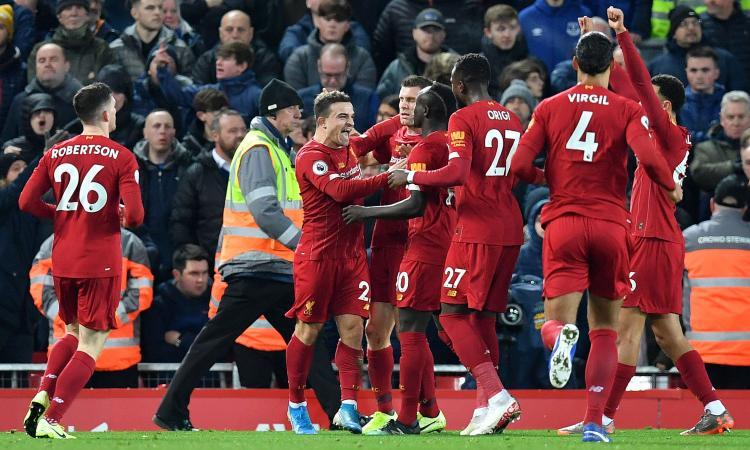 Premier: il Liverpool vince 5-2 il derby. Ok Chelsea e Leicester, 2-0 Wolves con gol di Cutrone