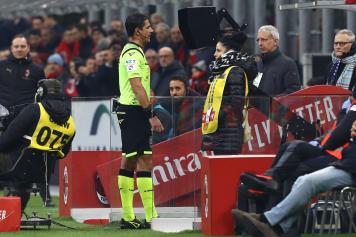 Manganiello arbitro Var Milan Sassuolo