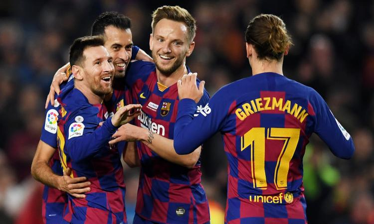 Inter, in Champions arriva il Barcellona 2: turnover di Valverde, Messi a rischio
