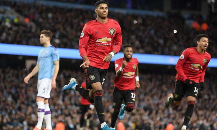 Il derby di Manchester è dello United: finisce 2-1. City terzo a 14 punti dal Liverpool