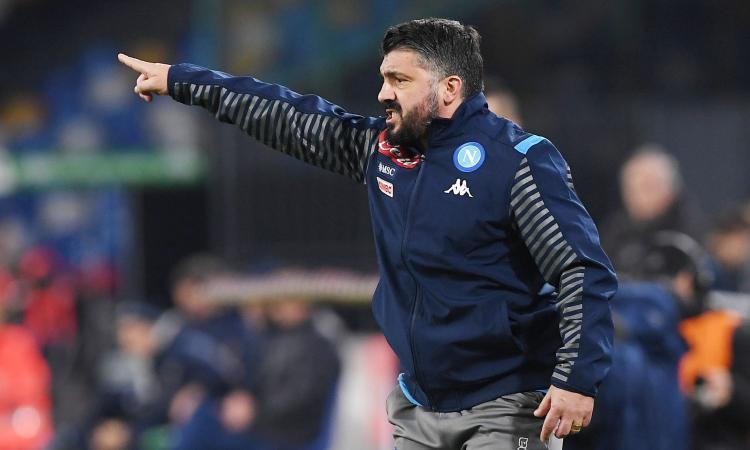 Gattuso: 'Demme e Lobotka acquisti importanti. Sui recuperi dagli infortuni e su chi gioca fra Ospina e Meret...'