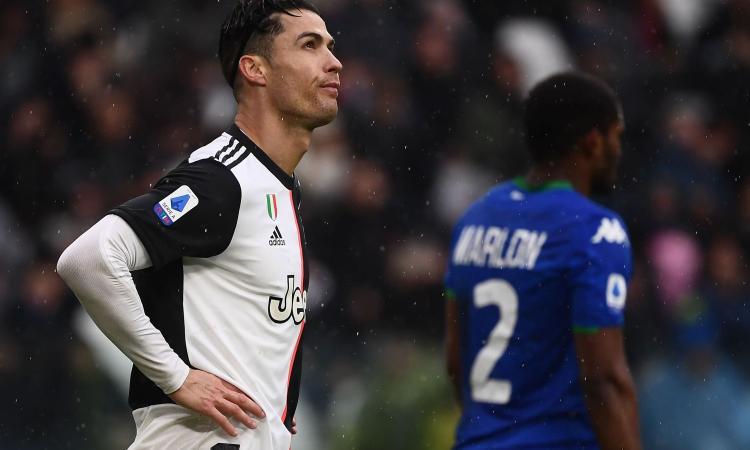 Errori e imprecisioni, Juve fermata 2-2 dal Sassuolo: ora l'Inter può balzare in vetta