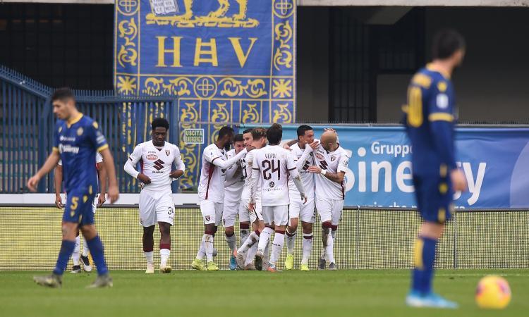 Serie A: rimonta Verona, è 3-3 contro il Torino! Il Bologna supera 2-1 l'Atalanta