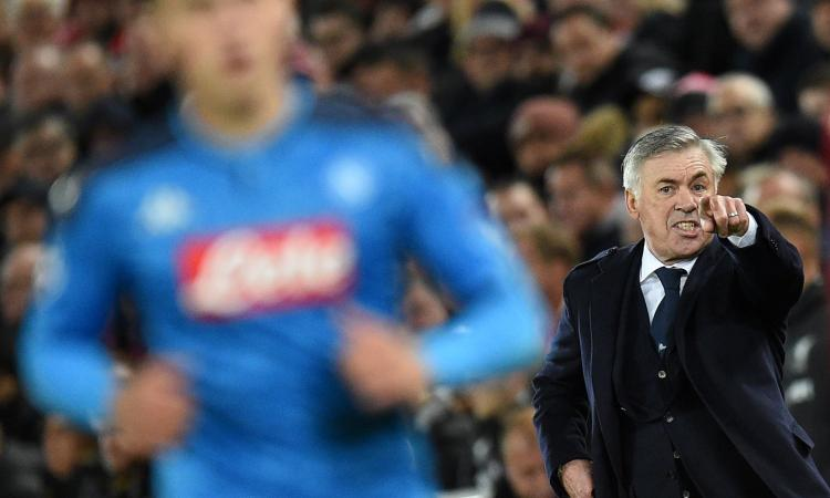 Napoli, incontro-scontro tra Ancelotti e i calciatori: ecco come è andata