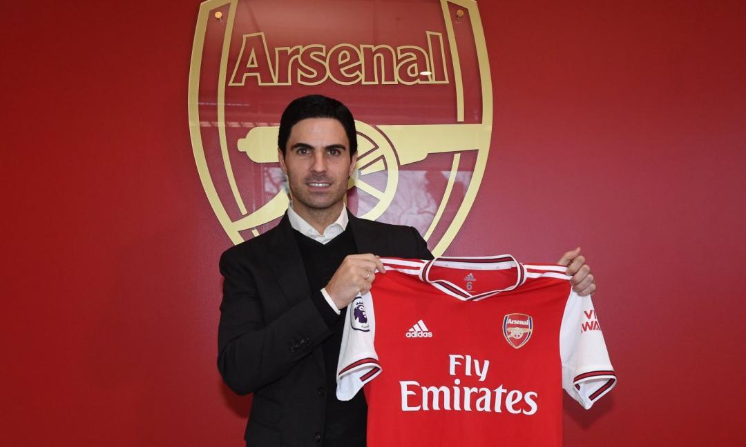 Arteta: l'allievo di Guardiola che può risollevare l'Arsenal