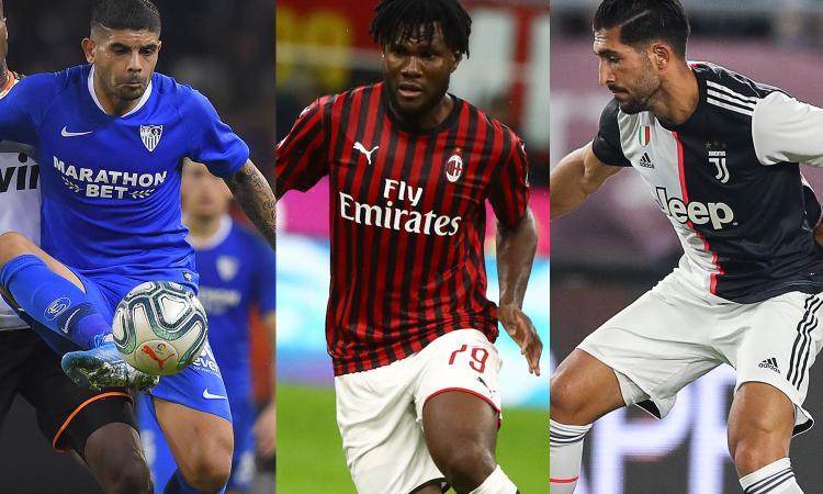 Fiorentina, un colpo a centrocampo: non solo i sogni Emre Can e Kessie, tutti i nomi