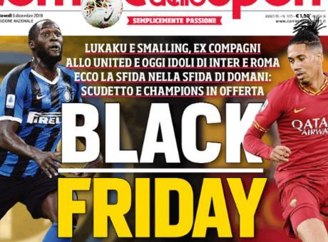Le superficiali accuse di razzismo al Corriere dello Sport per il titolo 'Black friday'