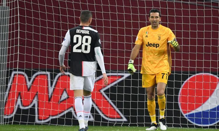 Juve, Buffon: 'Abituato alle critiche. Atalanta emozionante, l'avevo detto a Gasperini! E l'Inter...' VIDEO