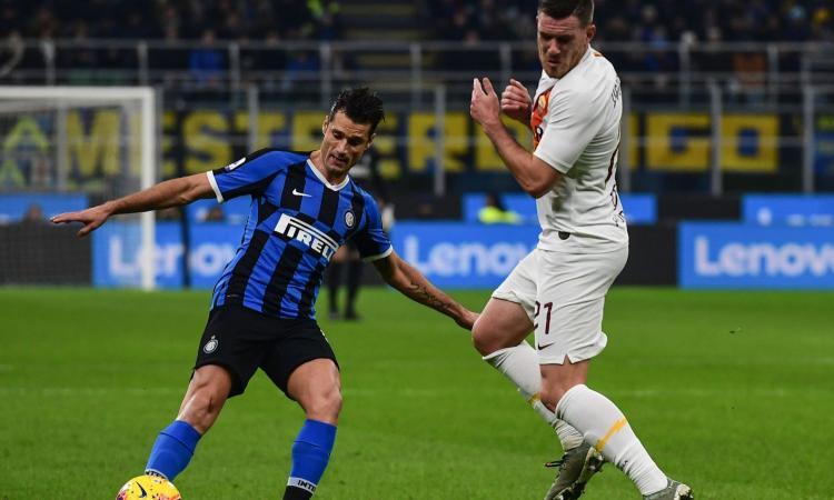 Inter, Candreva ancora ko: si allena a parte, ma Conte spera