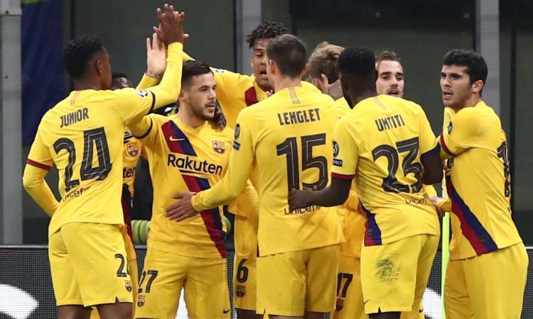 L'Inter perde 2-1 in casa con il Barcellona B: Conte fuori dalla Champions