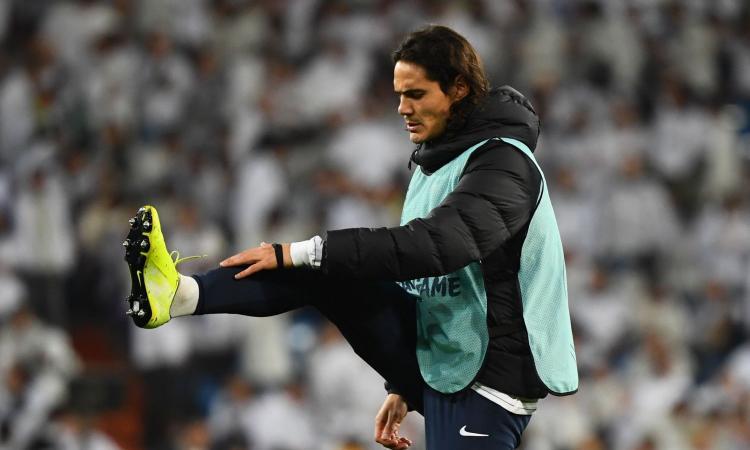 Cavani, due inglesi sfidano l'Atletico