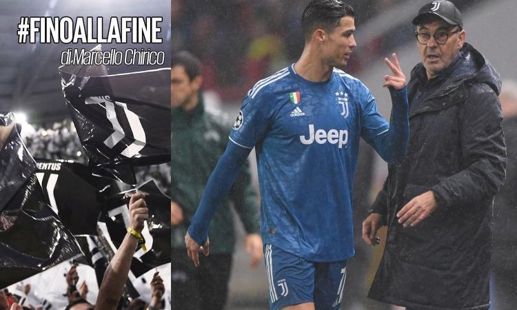 Chirico: 'Un pareggio ribalta il mondo. Ora Juve e Sarri sono in crisi, Conte è divino e l'Inter è già campione!'