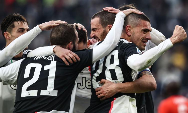 Juve, tridente spettacolo: doppietta di Ronaldo, 3-1 all'Udinese e sorpasso sull'Inter