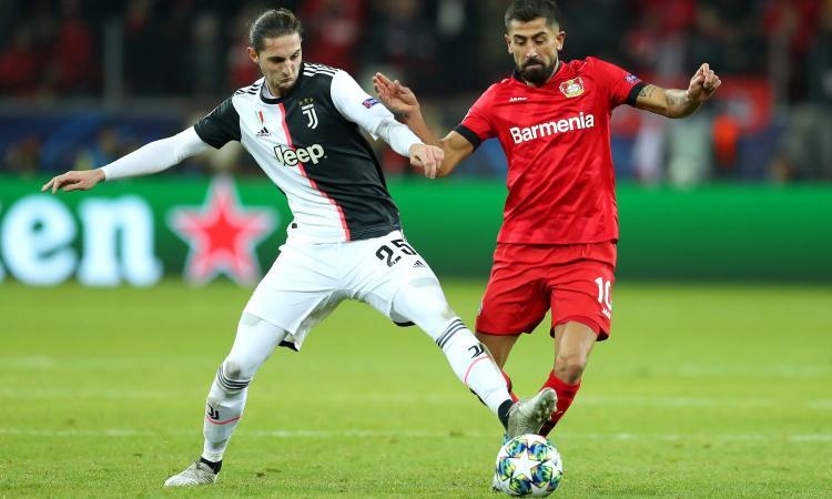 Bayer Leverkusen-Juve, le pagelle di CM: Rabiot sbaglia troppo, CR7 c'è