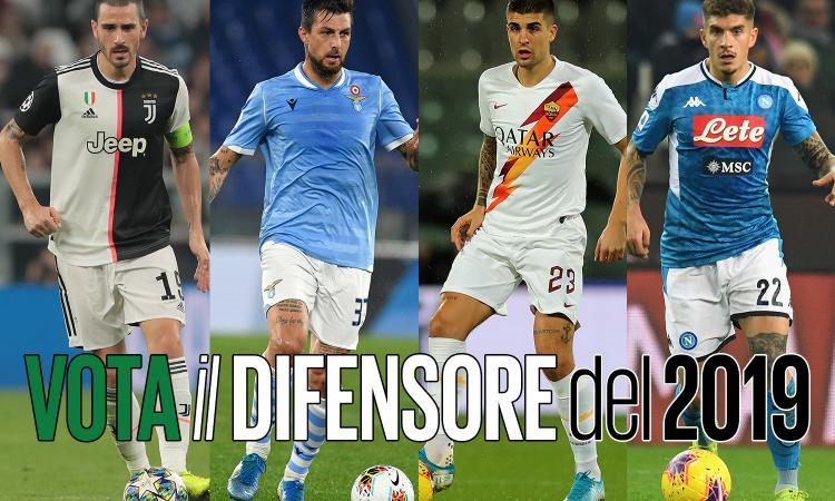 Serie A, la top 11 di CM: VOTA il miglior difensore del 2019