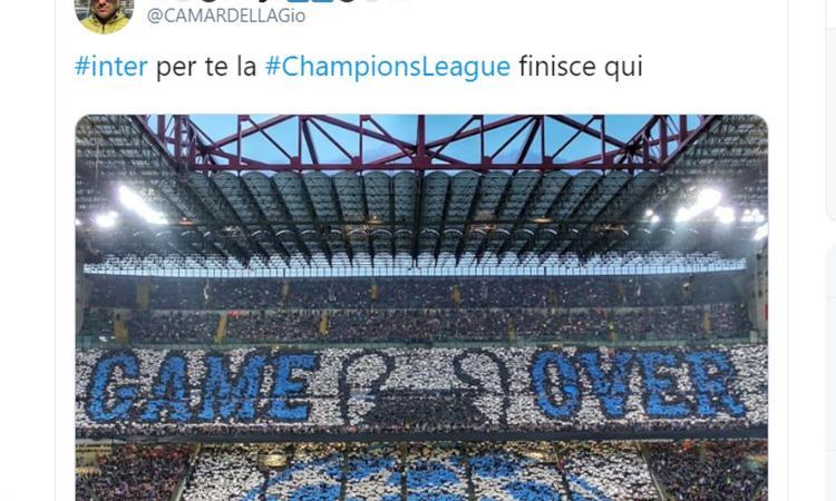 Inter out, web scatenato: 'Conte strapagato per uscire ai gironi!'. 'Siete terzi, magari arrivate primi come...'
