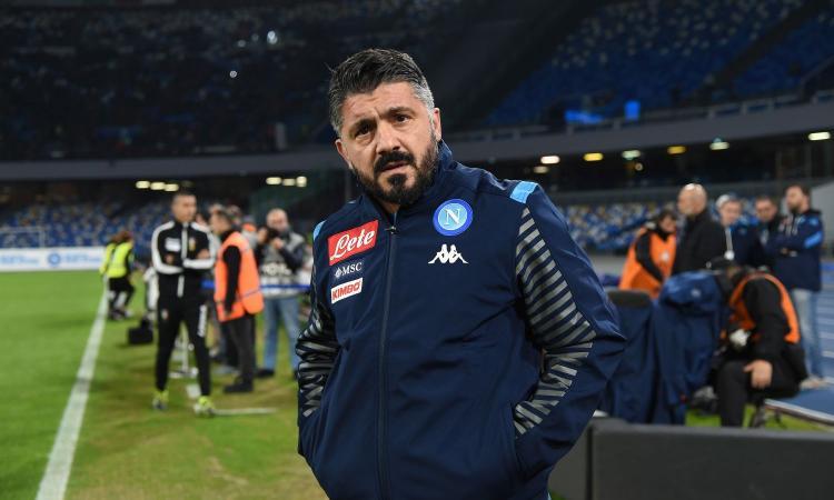 Napoli, Gattuso: 'La società ha fatto un gesto importante con Callejon'