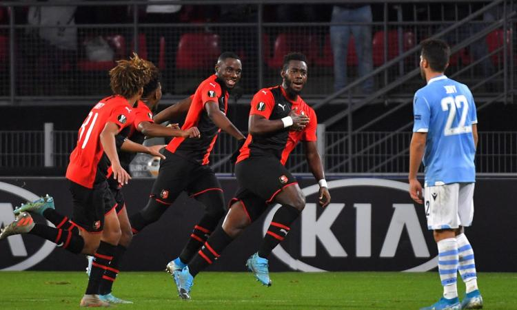 Niente miracolo, Gnagnon elimina la Lazio dall'Europa League: a Rennes finisce 2-0