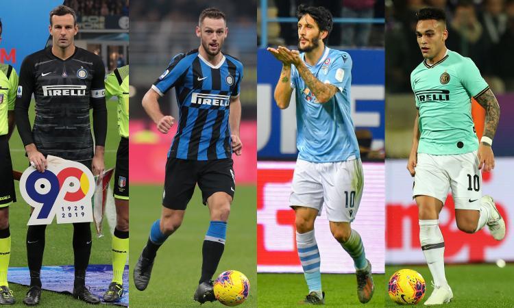 Serie A, la top 11 di CM: Gasp in panchina, c'è mezza Inter