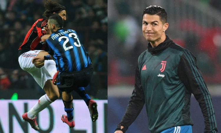 Milan, ciclone Ibra ancora prima di arrivare: insulta Ronaldo e Materazzi, parte la sfida a Juve e Inter