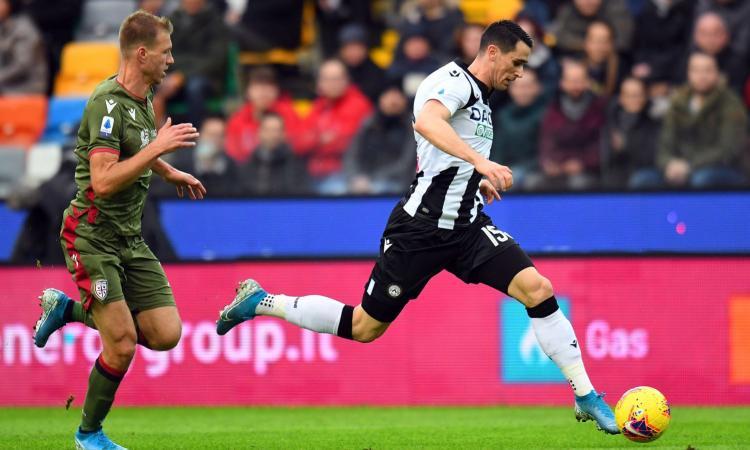Udinese-Sassuolo, le formazioni ufficiali: duello Lasagna-Caputo