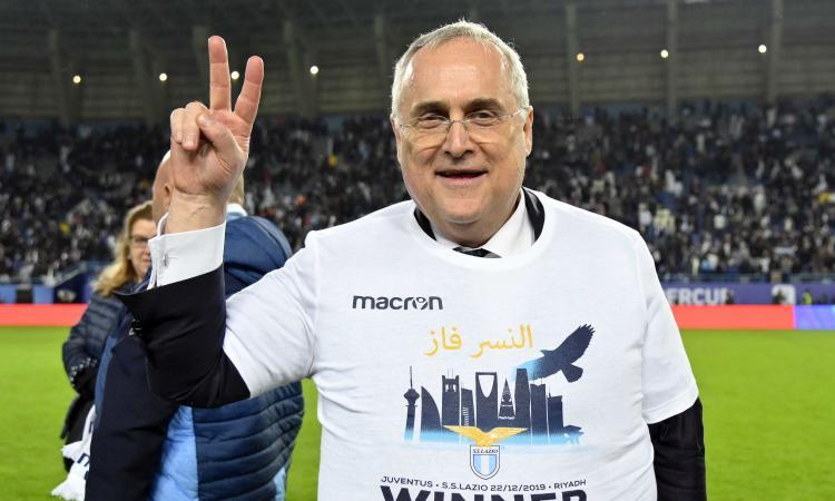 Lazio, l'operazione di mercato che fa sorridere due volte Lotito