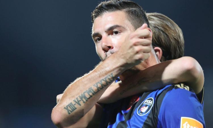 Serie B: il Pisa vince e aggancia il treno playoff, il Pordenone fuori casa non va