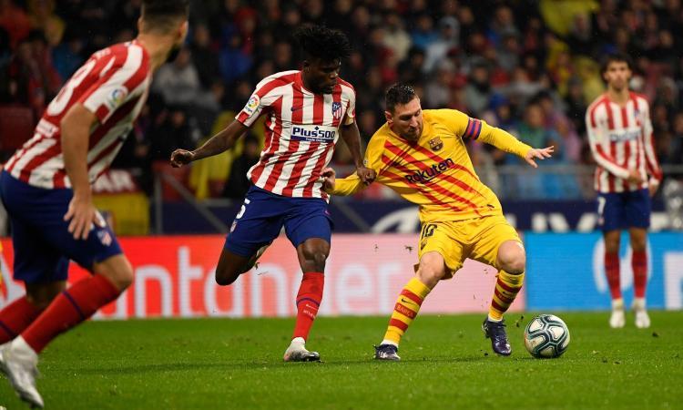 Messi stende ancora l'Atletico. Il Barcellona vince 1-0 e aggancia il Real