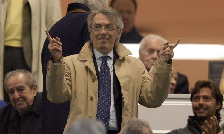 Moratti: 'Inter prima con gli juventini? Io presi Lippi... Vorrei Zaniolo e Dzeko. Juve? Per Sarri non sarà facile'