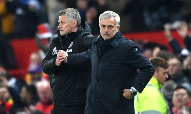 Mourinho cade a Manchester: quanto fa male essere battuto dal perdente Solskjaer