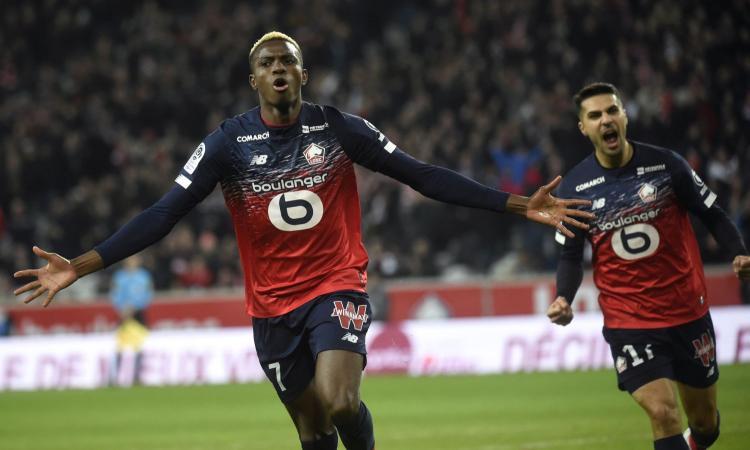 Milan su Osimhen, il Lille: 'Vogliamo tenerlo ma...'
