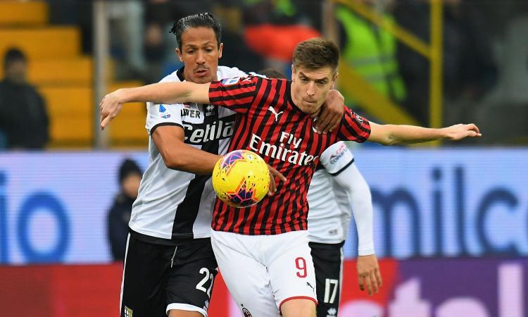 Parma-Milan, le pagelle di CM: Conti giganteggia ...