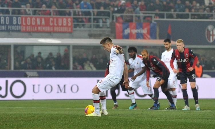 Milan, Piatek: 'Mi piacerebbe giocare con Ibrahimovic'