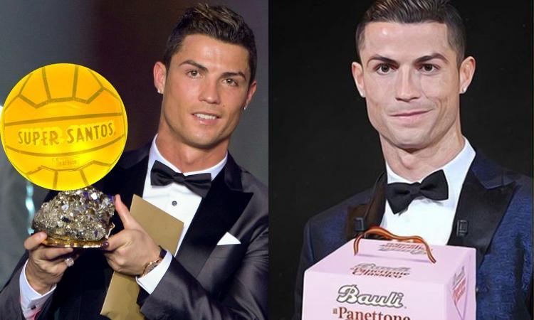 A Messi il Pallone d'Oro, a Ronaldo il 'Super Santos': il web prende in giro CR7