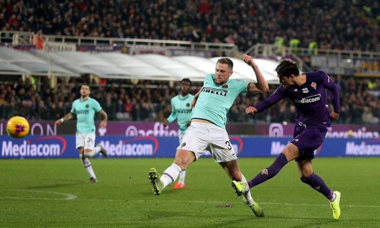 Fiorentina-Inter fra campo e mercato: Skriniar, nuovi incroci con Vlahovic e Milenkovic