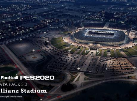 eFootball PES2020: c'è il 'nuovo' Allianz Stadium. Ecco tutti gli aggiornamenti