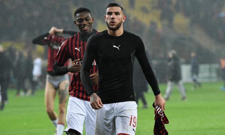 Giudice Sportivo: Medel salta il Milan, Theo Hernandez entra in diffida. 8mila euro di multa al Brescia
