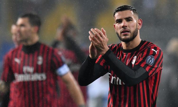 Parma-Milan: zampata di Theo Hernandez, i rossoneri tornano al successo. GUARDA GLI HIGHLIGHTS