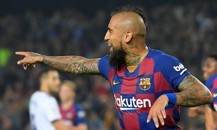 Vidal denuncia il Barcellona e vuole l'Inter