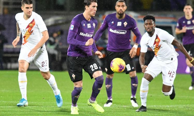 Fiorentina: Vlahovic via in prestito, a meno che il Milan...