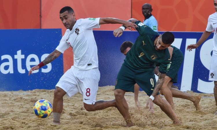 Mondiali beach soccer, Italia sconfitta 6-4 in finale da un super Portogallo