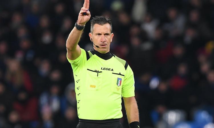 Juventus-Milan: arbitra Doveri. Gli assistenti e i due var