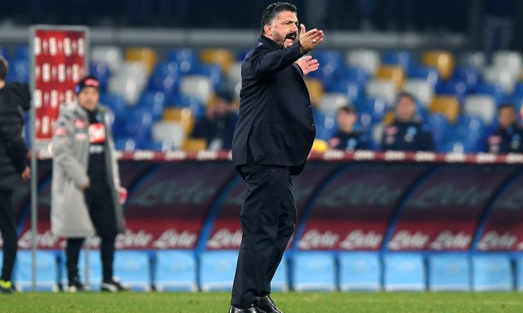 Gattuso: 'Già fatti tanti danni, non mi fido. Voglio gente che pensi 24 ore al Napoli' VIDEO