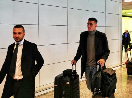 Roma, è sbarcato Ibanez: domani le visite mediche FOTO