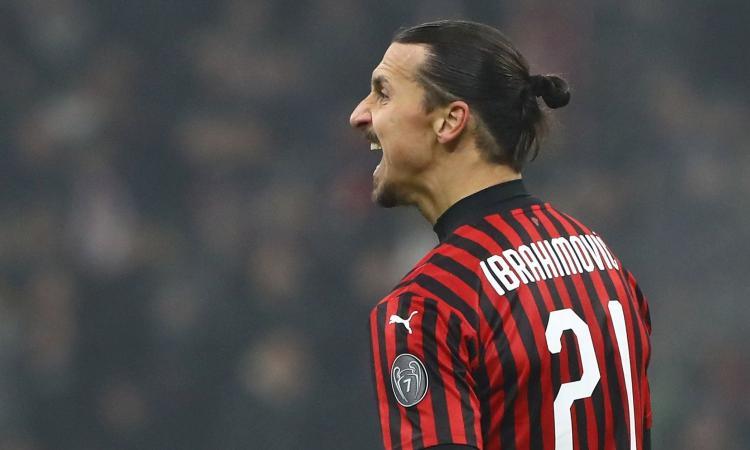 Milan, Ibra ruggisce per il derby contro l'Inter: il suo recupero è sempre più vicino