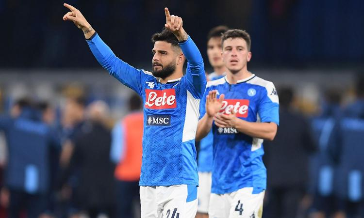 Insigne: 'Gran partita, vittoria nostra e di tutta Napoli. Sarri? È il nostro mestiere...'