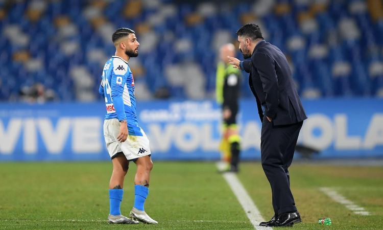 Napoli, confronto Gattuso-squadra: ritiro immediato in vista della Lazio